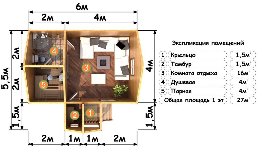 1-й этаж