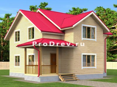 Дом из бруса 10х10