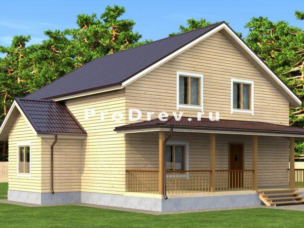 Дом из бруса 10х10 (ДБ-133)