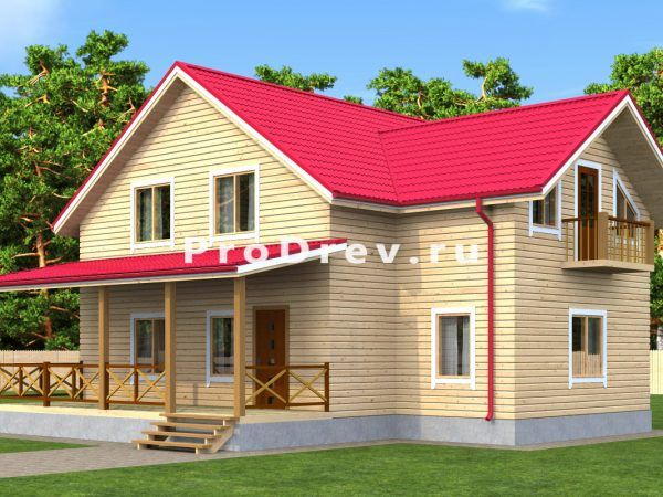 Дом из бруса 10х11 (ДБ-136)