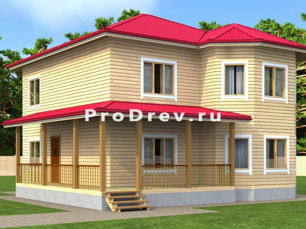 Каркасный дом 11х11 (КД-8)