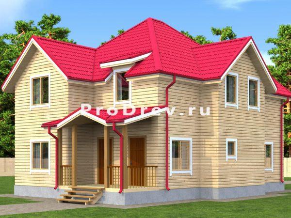 Дом из бруса 10х12 (ДБ-152)