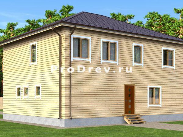 Каркасный дом 10х12 (КД-77)