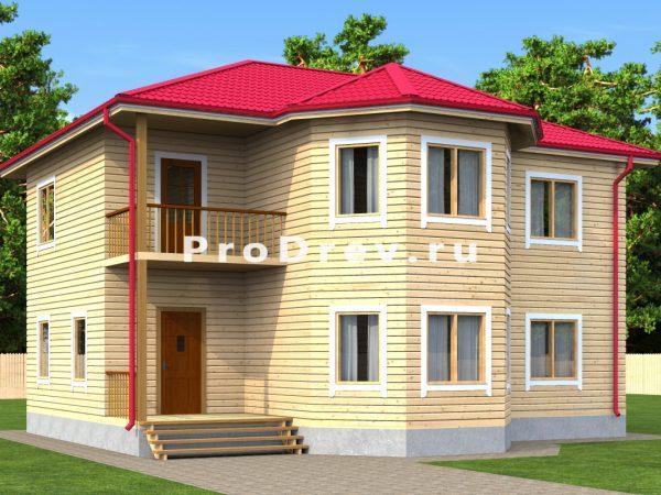Дом из бруса 10х11 (ДБ-16)