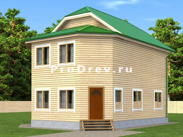 Каркасный дом 8х10 (КД-83)