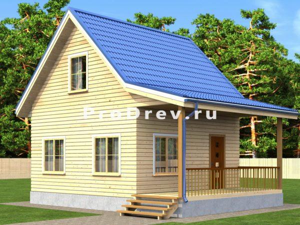 Дом из бруса 6х6 (ДБ-195)