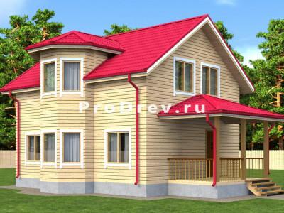 Дом из бруса 7х11