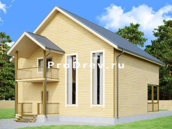 Дом из бруса 10х12 (ДБ-249)