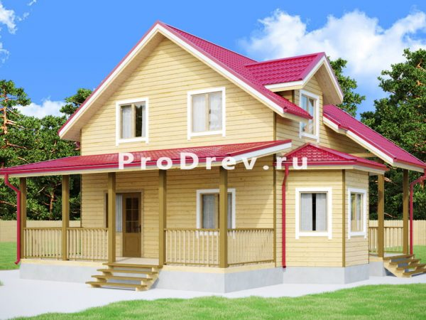 Дом из бруса 10х11 (ДБ-253)