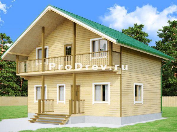 Каркасный дом 7х9 (КД-115)