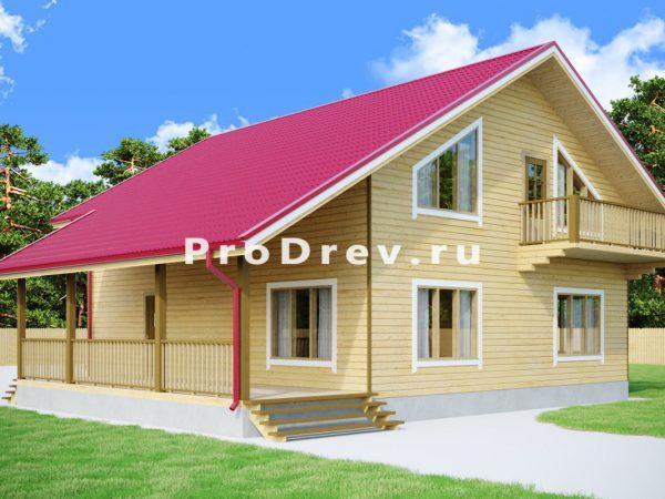Дом из бруса 11х12 (ДБ-268)