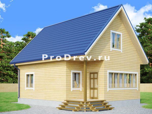 Дом из бруса 7х9 (ДБ-276)