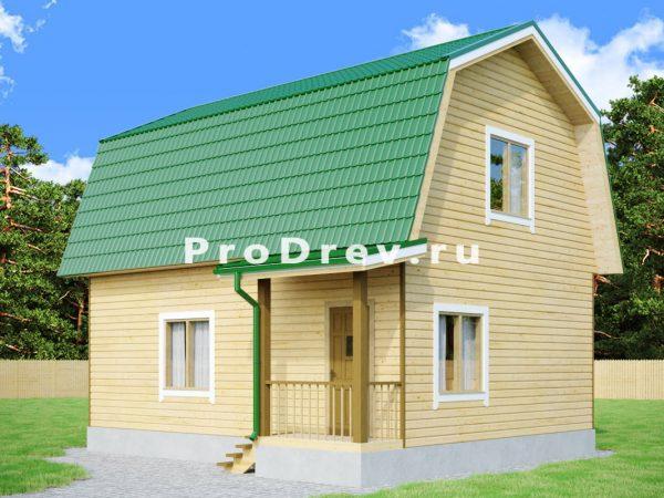 Каркасный дом 7х8 (КД-121)