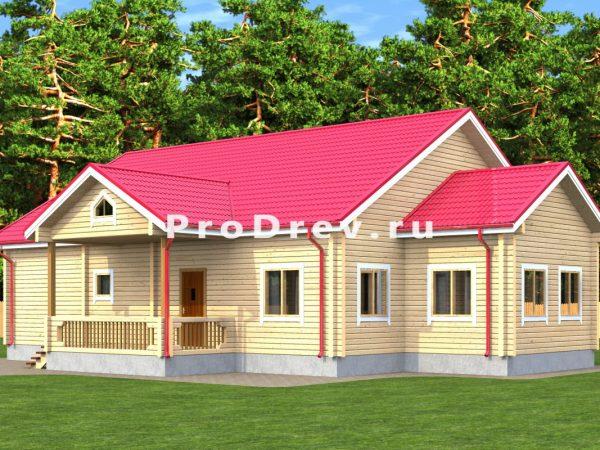 Дом из бруса 11х13 (ДБ-297)