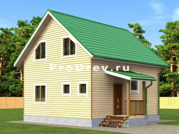 Каркасный дом 7х8 (КД-130)