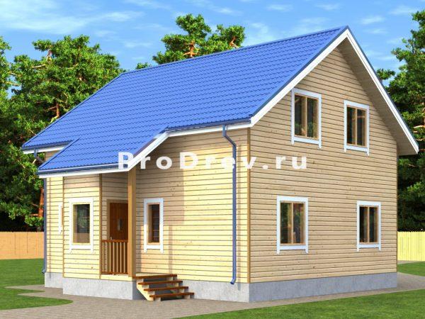 Дом из бруса 9х9 (ДБ-301)