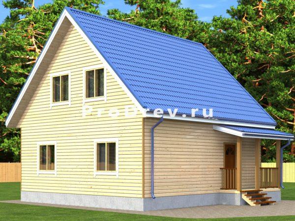Каркасный дом 8х8 (КД-137)