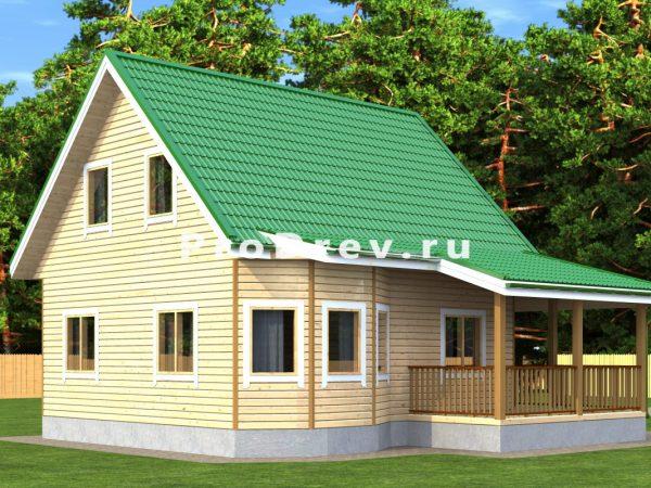 Каркасный дом 7х8 (КД-138)