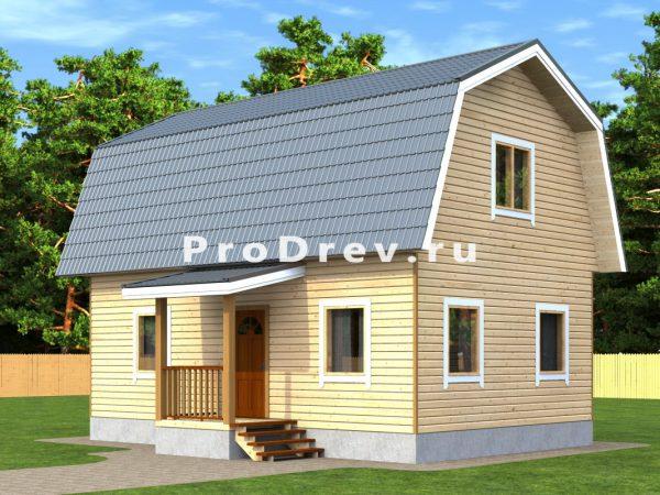 Каркасный дом 6х9 (КД-139)