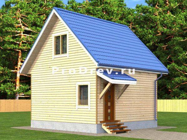 Дом из бруса 6х6 (ДБ-312)