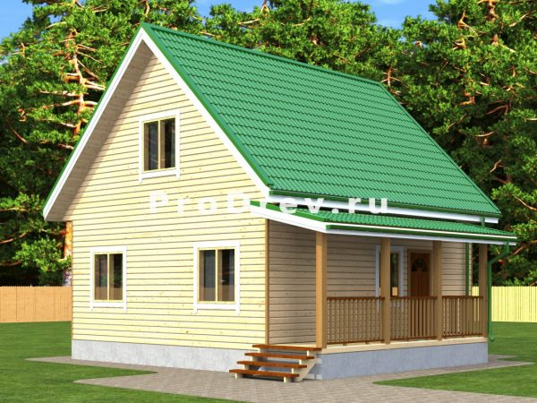 Каркасный дом 7х8 (КД-141)