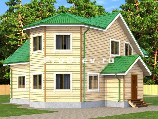Дом из бруса 11х12 (ДБ-217)