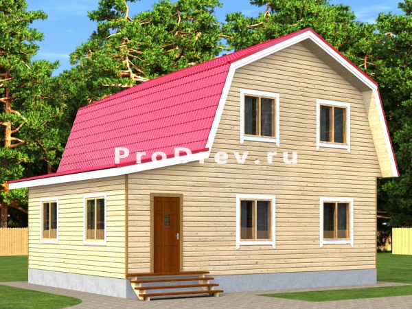Каркасный дом 9х9 (КД-99)