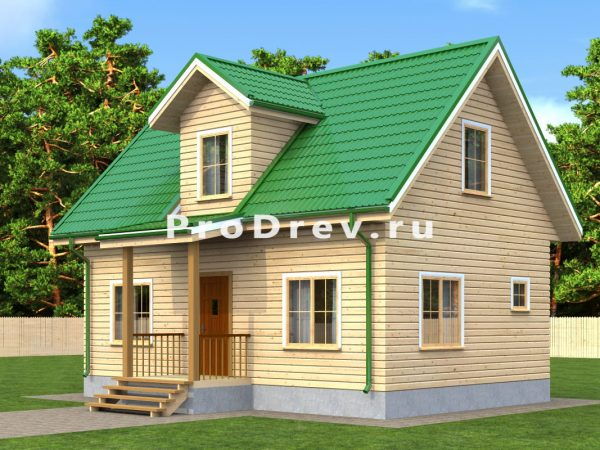 Дом из бруса 6х9 (ДБ-44)