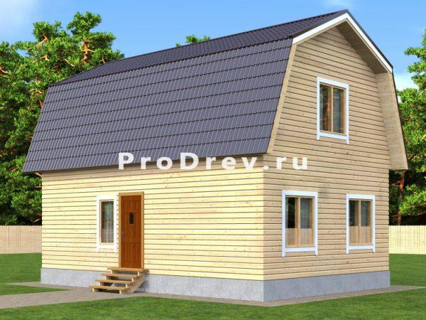 Каркасный дом 6х9 (КД-24)