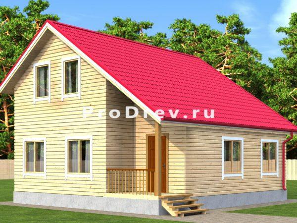 Каркасный дом 8х9 (КД-27)