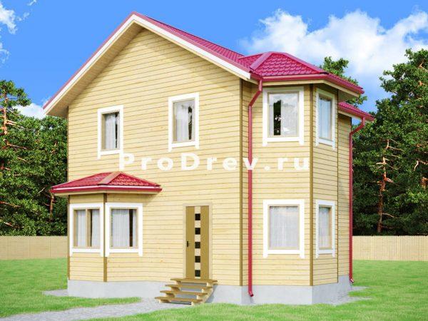 Каркасный дом 7х8 (КД-39)