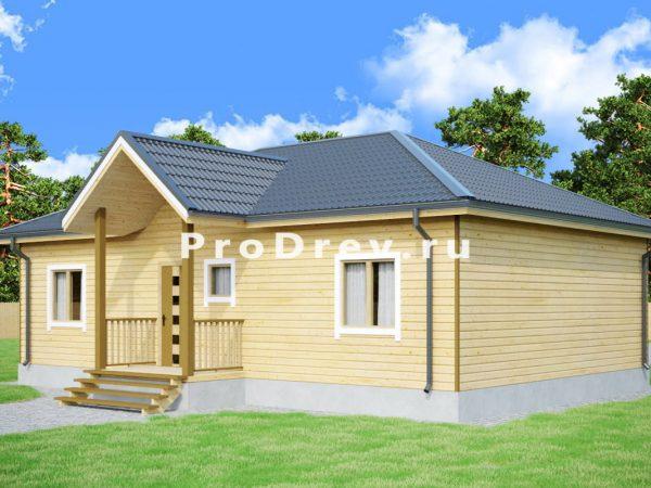 Дом из бруса 8х12 (ДБ-99)