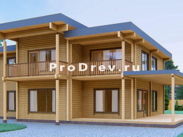 Дом из клееного бруса 12х13 (КБ-14)