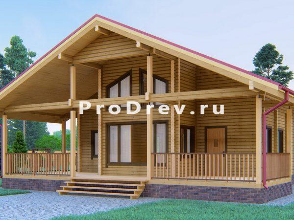 Дом из клееного бруса 10х11 (КБ-15)