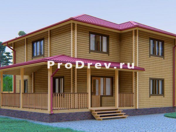 Дом из клееного бруса 10х15 (КБ-24)