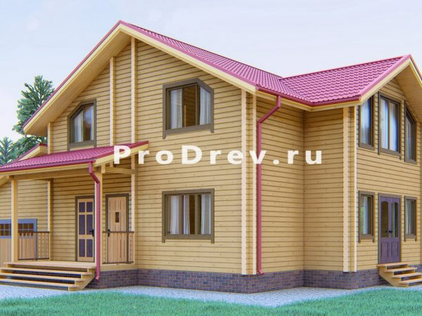 Дом из клееного бруса 10х13 (КБ-29)