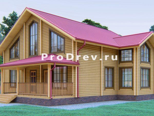Дом из клееного бруса 12х13 (КБ-30)