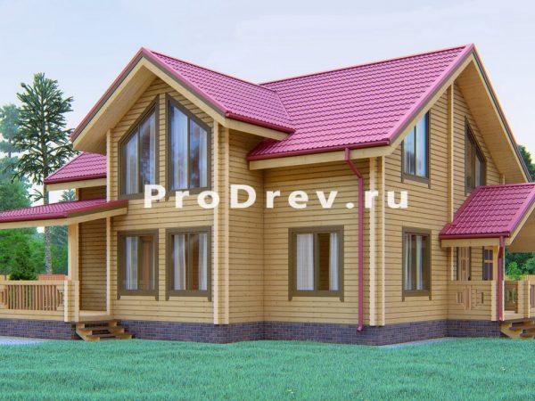 Дом из клееного бруса 11х12 (КБ-33)