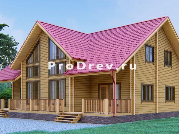 Дом из клееного бруса 10х15 (КБ-34)