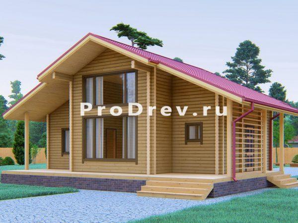 Дом из клееного бруса 10х11 (КБ-44)