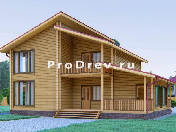 Дом из клееного бруса 10х13 (КБ-48)