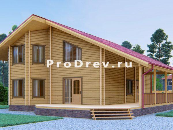 Дом из клееного бруса 13х14 (КБ-50)