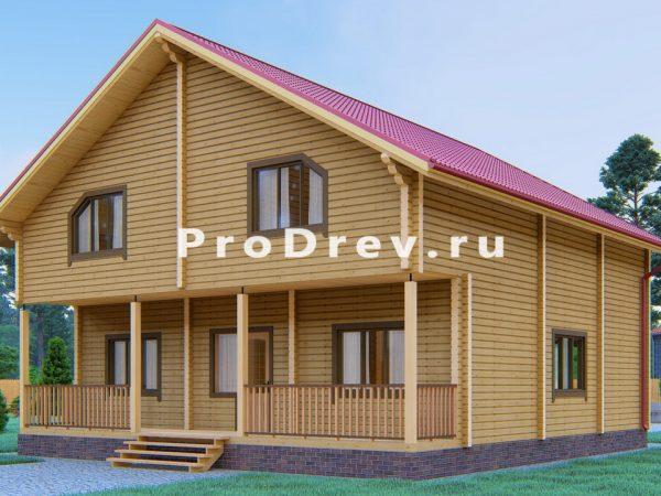 Дом из клееного бруса 10х12 (КБ-5)